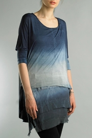Tempo Paris Tunic Dip Dye Tunic - Product Mini Image