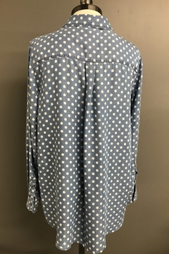Multiples Tencel Dot Shirt - Alternate List Image
