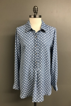 Multiples Tencel Dot Shirt - Product List Image