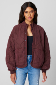 Blank NYC TENCEL DROP SHOULDER QUILTED JKT - Product Mini Image