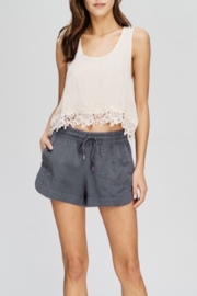 Wishlist Tencel Pocketed Mini Shorts - Product Mini Image