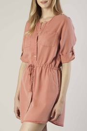 Dear John Tencel Shirt Dress - Front full body