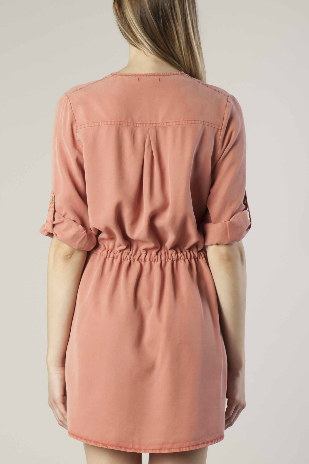 Dear John Tencel Shirt Dress - Side Cropped Image