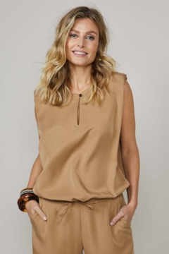Summum Tencel Sleeveless Top - Product List Image