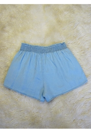Minx Tencel Smock Shorts - Front cropped