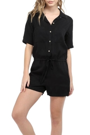 Glam Tencel Utility Romper - Product Mini Image