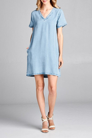 Ellison Tencel Woven Dress - Product Mini Image