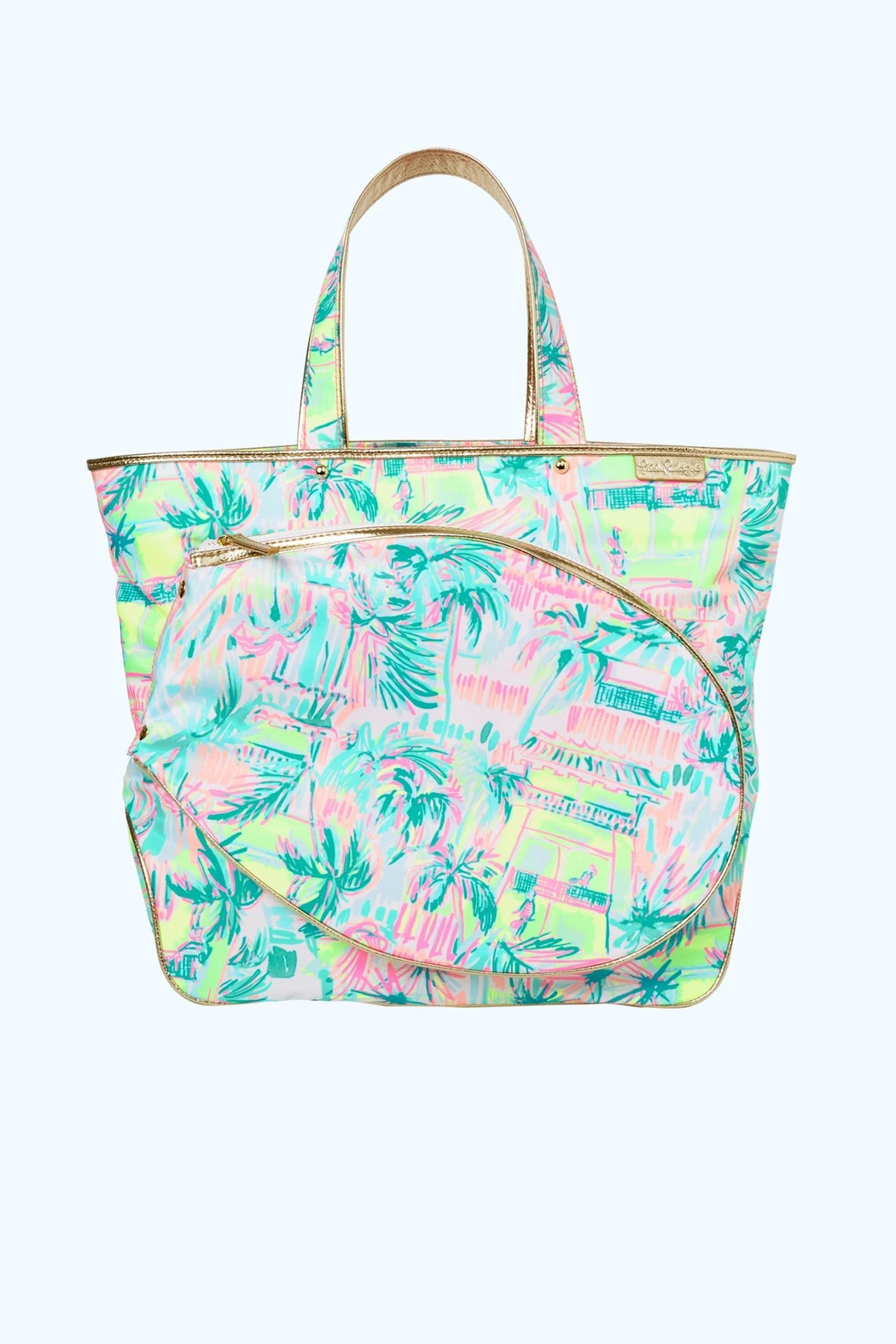 Lilly Pulitzer Tennis Tote Bag Front Cropped Image