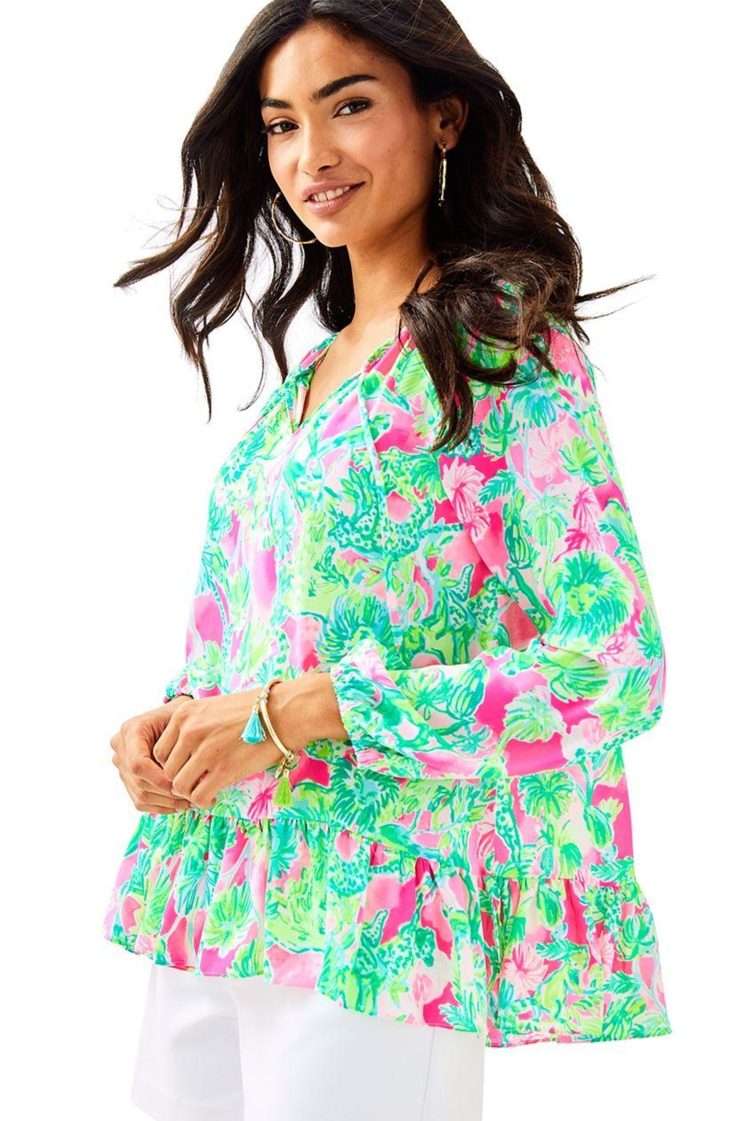 Lilly Pulitzer Tensley Top - Main Image