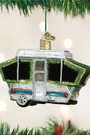 Old World Christmas Tent Camper Ornament - Product Mini Image