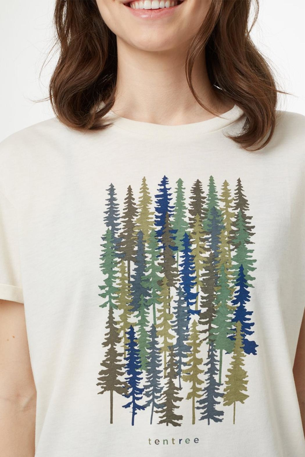 tentree Spruced Up T-Shirt - Back Cropped Image