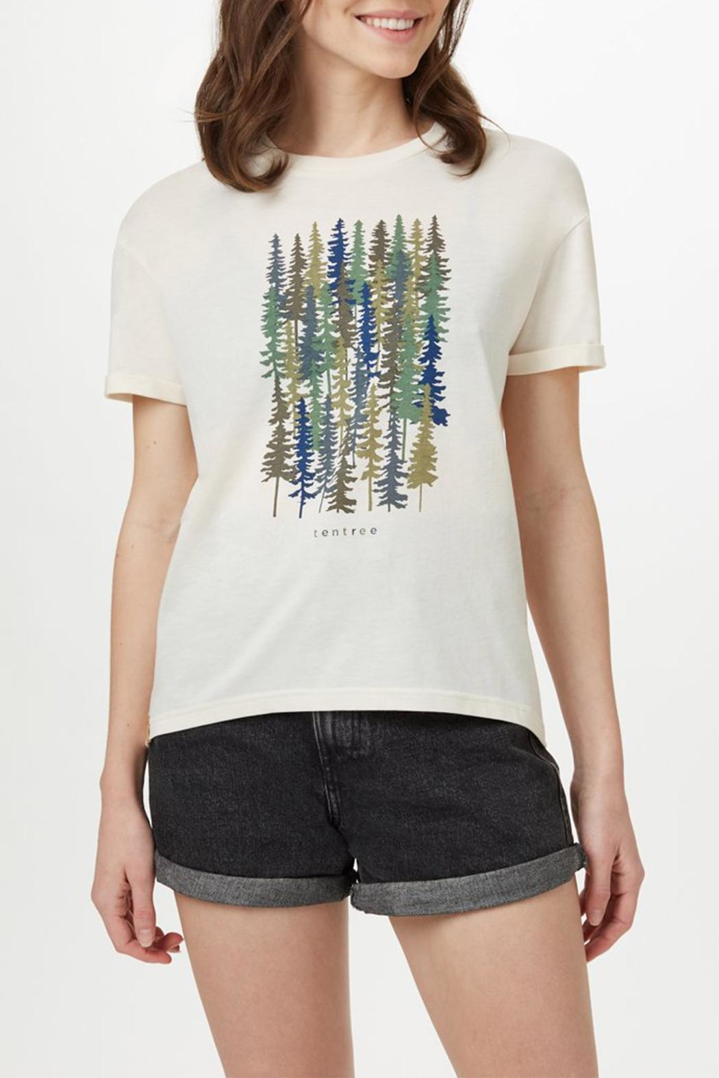tentree Spruced Up T-Shirt - Front Full Image
