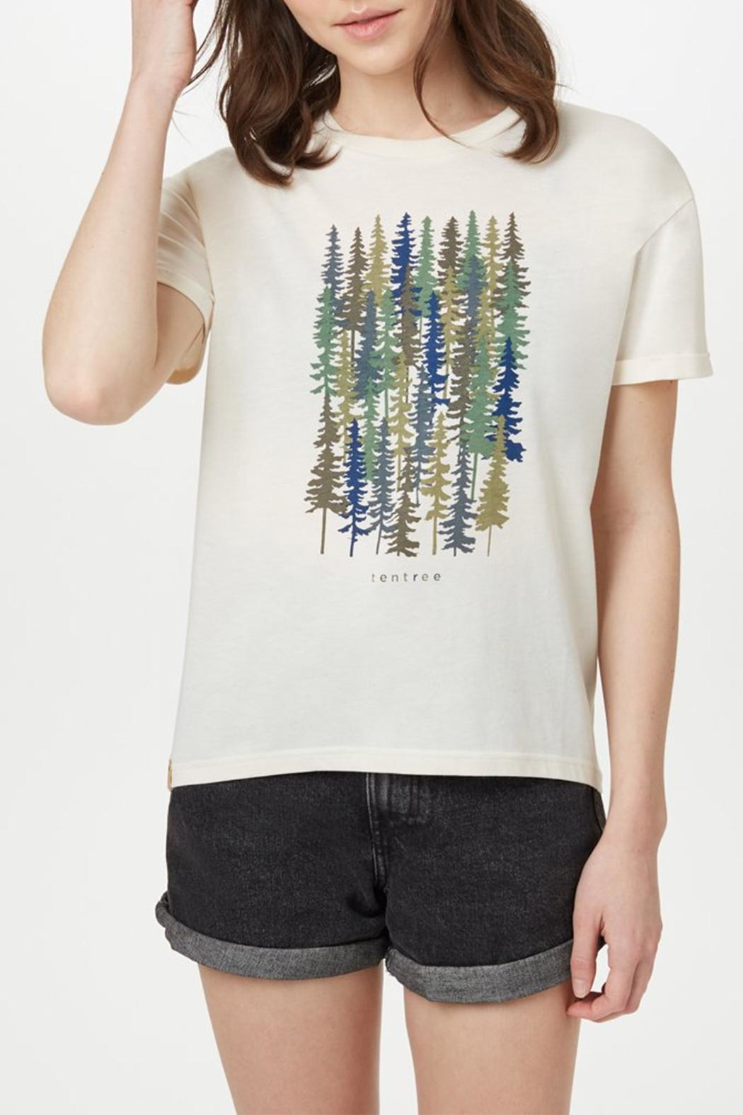 tentree Spruced Up T-Shirt - Side Cropped Image