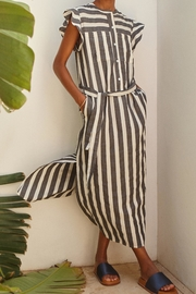 Teoh & Lea Striped Summerdress - Front full body