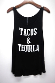 Wild Lilies Jewelry  Tequila Tacos Tank - Product Mini Image
