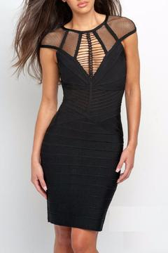 Terani Couture Bandage Cocktail Dress - Product List Image