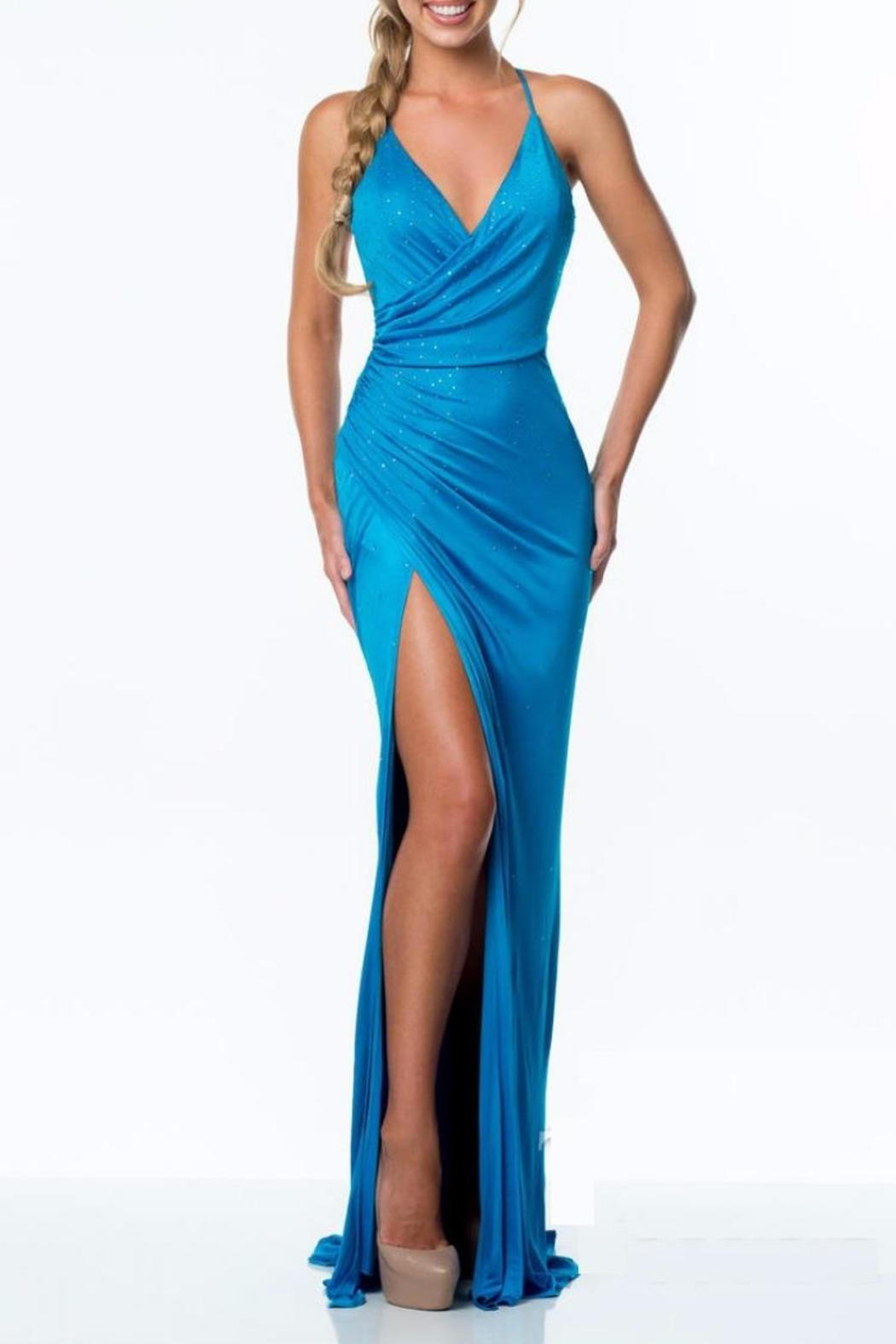 Terani Couture Jersey Chiffon Dress from New York City by Effie\'s ...