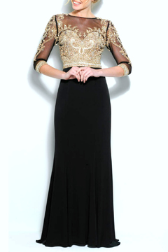 Terani Couture Long Jersey Dress - Product List Image