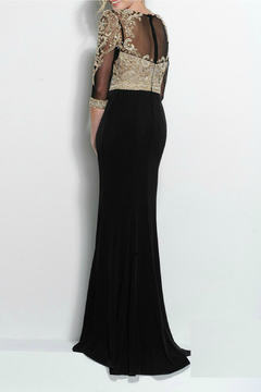 Terani Couture Long Jersey Dress - Alternate List Image