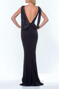 Terani Couture V Neck Gown - Alternate List Image