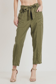 Cest Toi Tercel Tie Pants - Product Mini Image