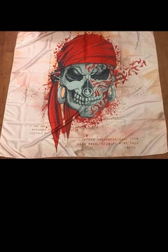 New Mix Terdum Skull Tapestry - Alternate List Image
