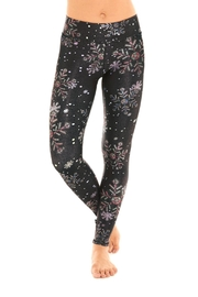 Terez Crystal Snowflake Legging - Product Mini Image