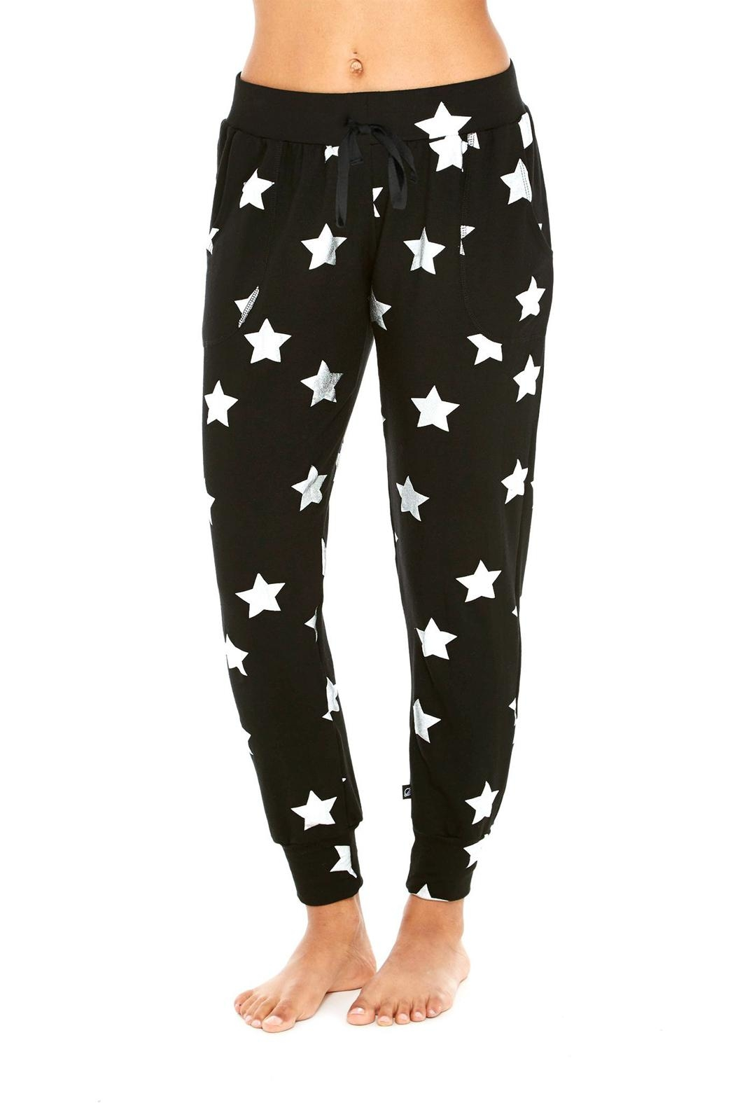 Terez Foil Star Jogger - Front Cropped Image