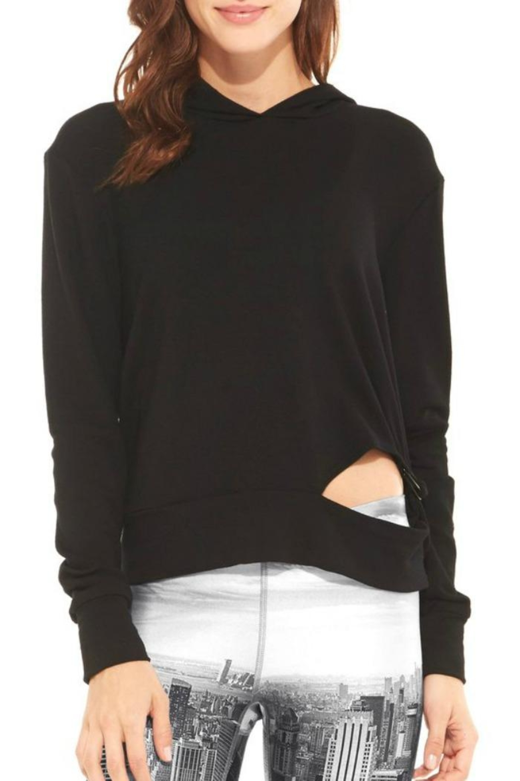 Terez French-Terry Ring Hoodie - Main Image
