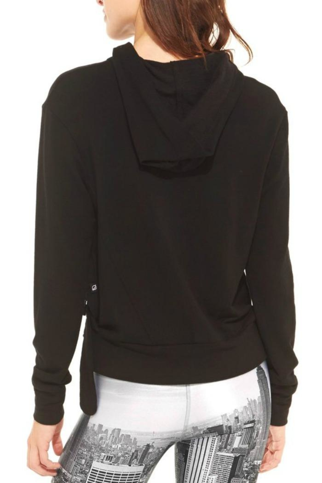 Terez French-Terry Ring Hoodie - Front Full Image