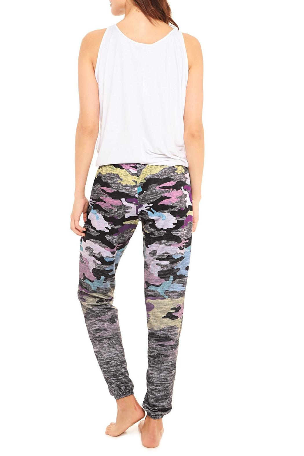 Terez Heather Camo Jogger - Side Cropped Image