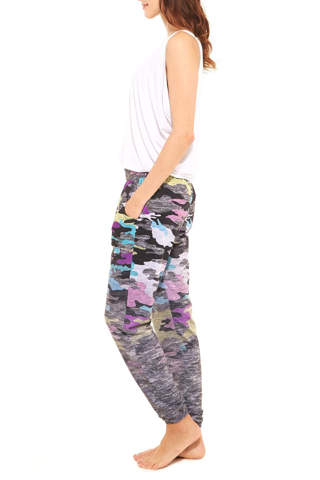 Terez Heather Camo Jogger - Front Full Image
