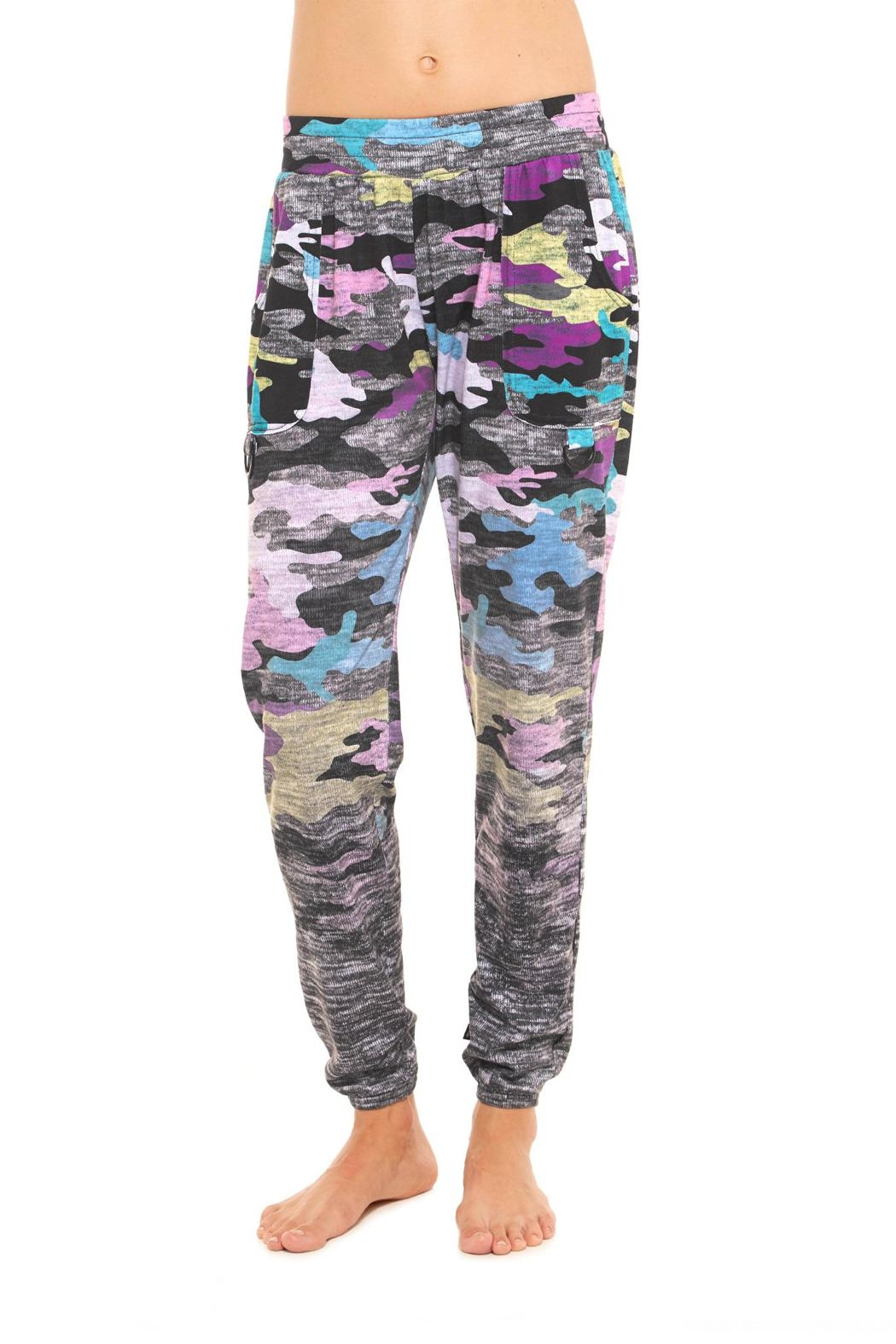 Terez Heather Camo Jogger - Main Image