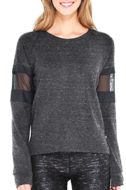 Terez Mesh Terry Sweatshirt - Product Mini Image