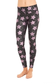Terez Pink Star Legging - Product Mini Image