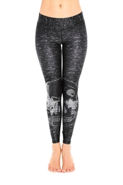 Terez Starry Skull Leggings - Product Mini Image