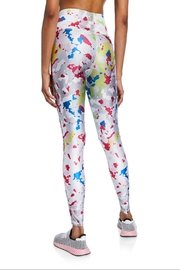 Terez White Camo Capri - Front full body