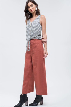 Day to Day Terracotta Crop Pants - Product List Image