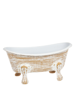 Ganz Terracotta Finish Bathtub Soap Dish - Product List Image