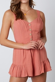 Cotton Candy LA Terracotta Romper - Product Mini Image