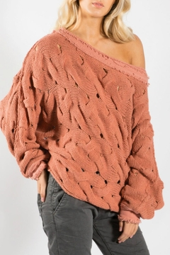 Elan Terracotta Sweater - Product List Image