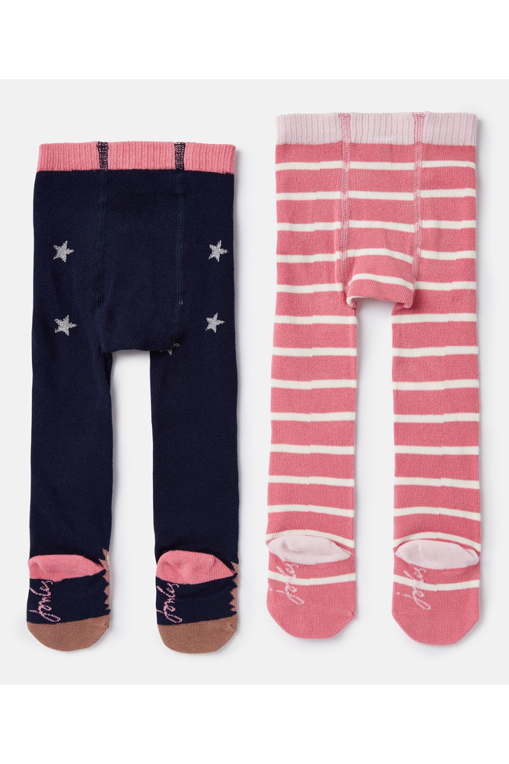 Joules Terrific Tights (2 Pack) - Front Full Image