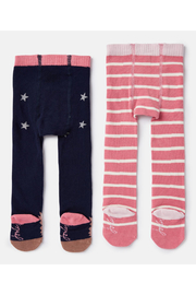 Joules Terrific Tights (2 Pack) - Front full body