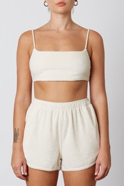 NIA Terry Bralette - Front cropped