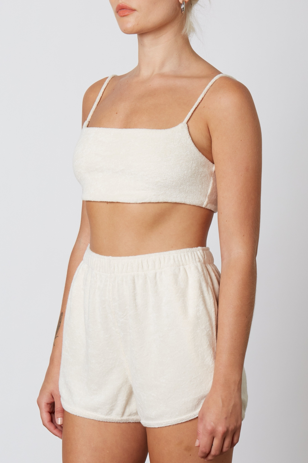 NIA Terry Bralette - Front Full Image