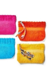Two's Company Terry Cloth Pouch with Zipper - Product Mini Image