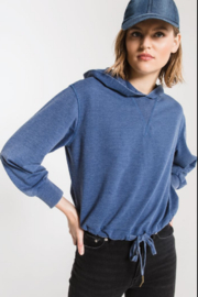 z supply Terry hoodie - Front cropped