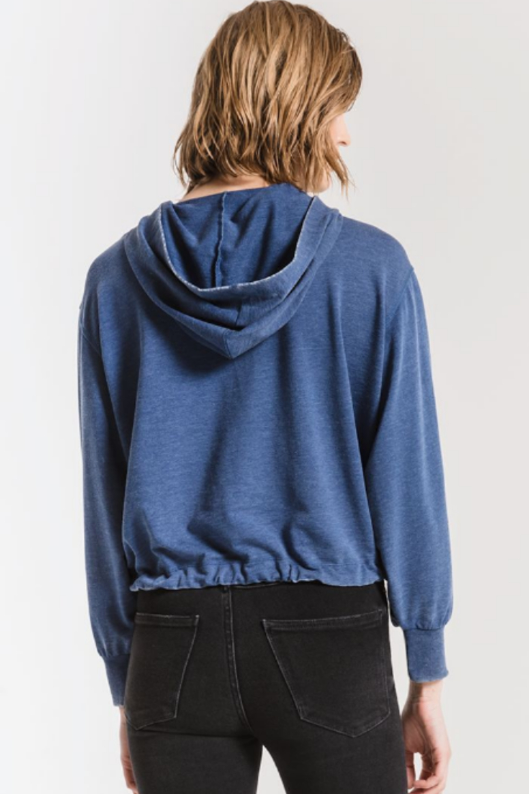 z supply Terry hoodie - Front Full Image