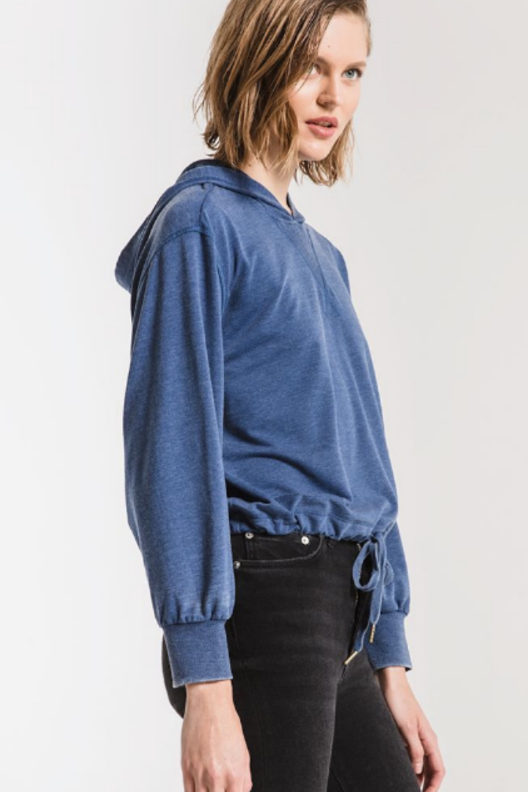 z supply Terry hoodie - Side Cropped Image
