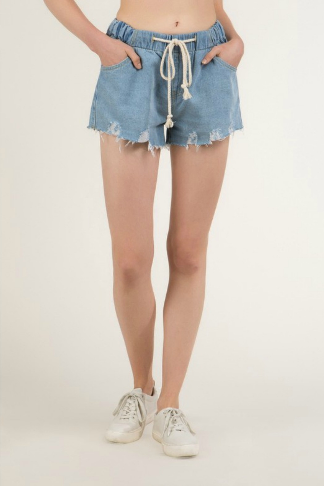 R+D Hipster Emporium  Terry Rope Short - Back Cropped Image